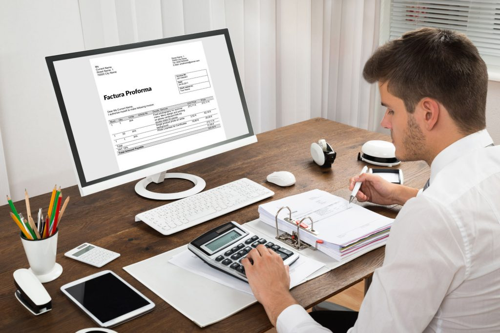 emitere factura pro forma cu apliactia Facturis Online