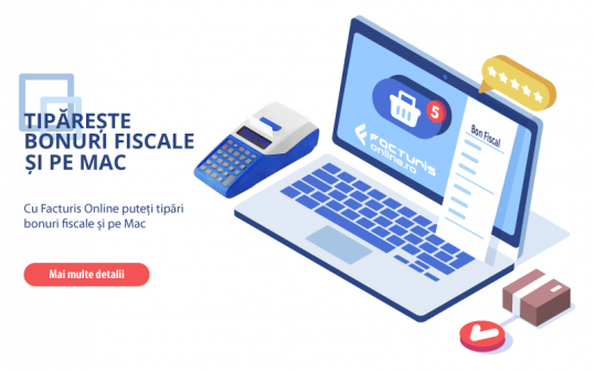 Se pot tipari bonuri fiscale si pe Mac (Apple)