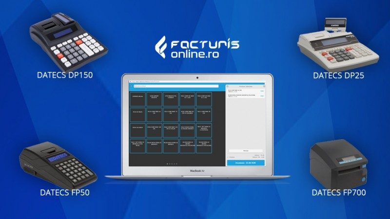 Cum se configureaza noile case de marcat Datecs in aplicatie?