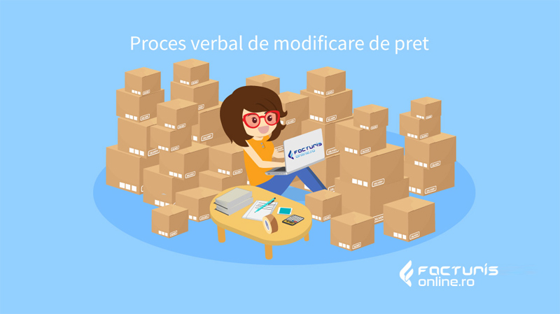 Proces verbal de modificare de pret