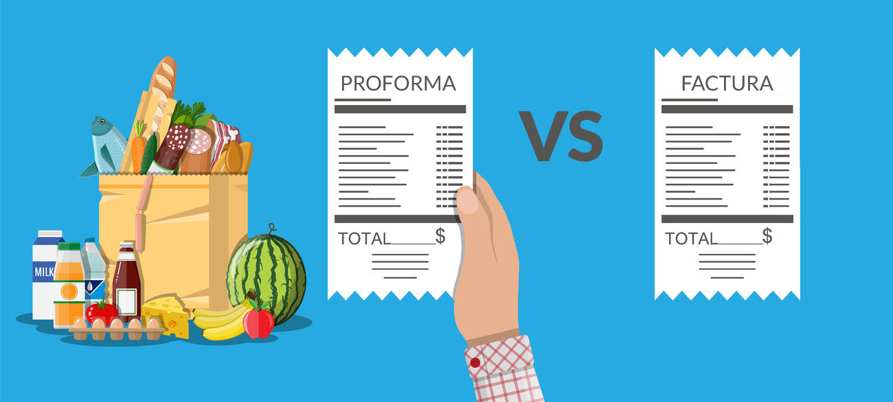 proforma vs factura